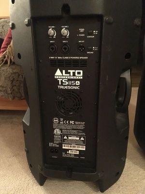 Alto TS115A for Sale in Richmond, VA