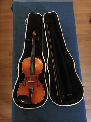 William Lewis & Sons TON-KLAR the Dancla Violin with bow, rosin and hard case for Sale in Washington, DC
