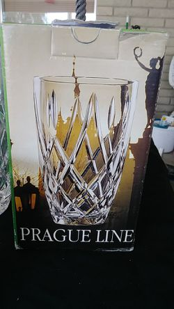 Prague crystal vase Thumbnail