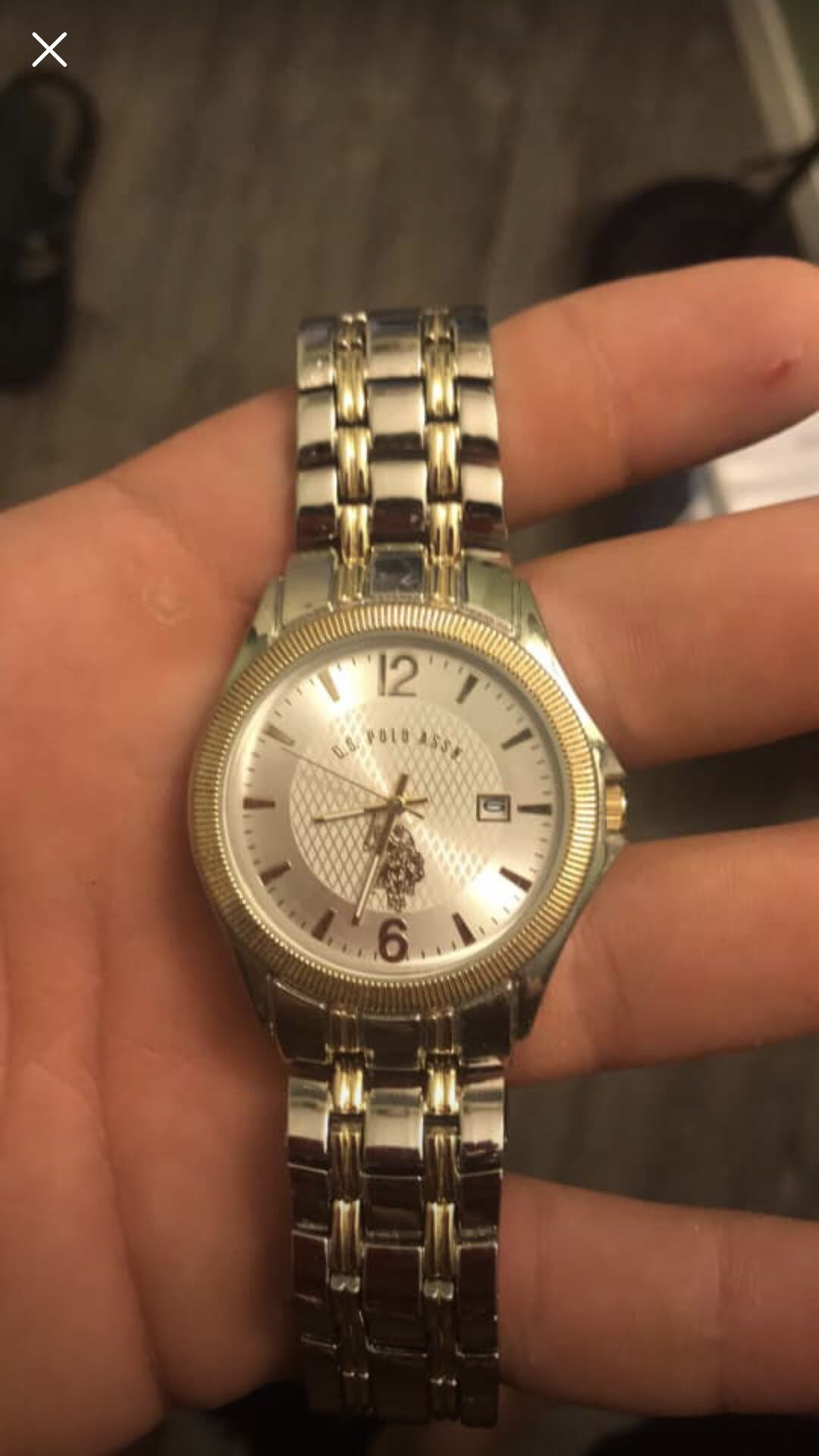 U.S Polo Assn Watch! Never been used brand new!