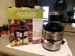 Jack Lalanne Deluxe Ultimate juicer for sale  Irving, TX