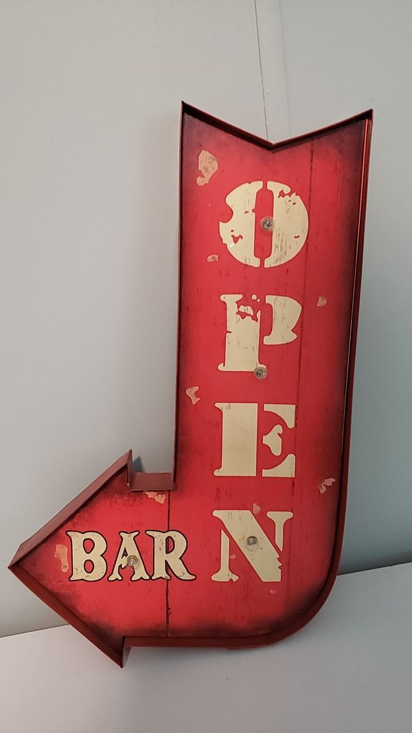 Bar Open large lighted sign NWT for Sale in Jacksonville