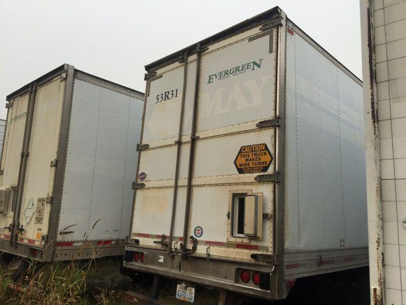 1999 refer trailer works good for sale or rent
