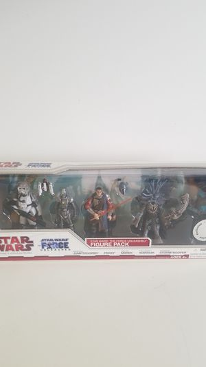 5pack Star Wars 2010 Legacy Collection Exclusive Force Unleashed Action Figures for Sale in Fort Lauderdale, FL