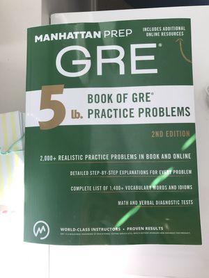 GRE Manhattan Prep book for Sale in Boston, MA