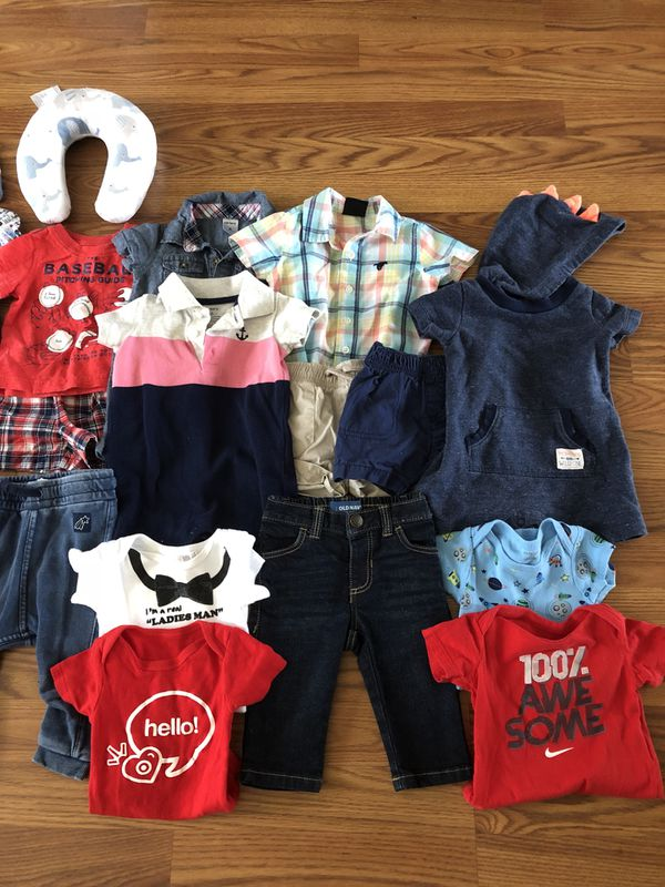 e4e61bcb9 Lot of baby boy clothes sizes 3-6 months & 6 months for Sale in ...