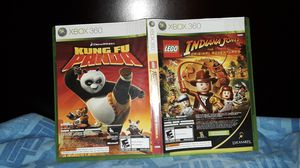 Katy, Tx Xbox 360 Video Game Kung Fu Panda and Indianna Jones for Sale in Katy, TX