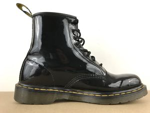 Dr Martens 1460 Size Women's 11 8 Eye Lace up Black Pantent Leather for Sale in Los Angeles, CA