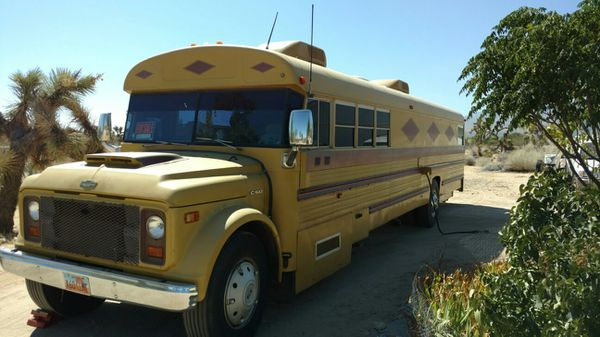 Bus RV Conversion for Sale in Apple Valley, CA - OfferUp