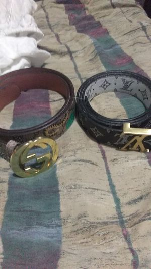7f5a7412428 Gucci belt and LOUIS VUITTON BELT for Sale in Miami