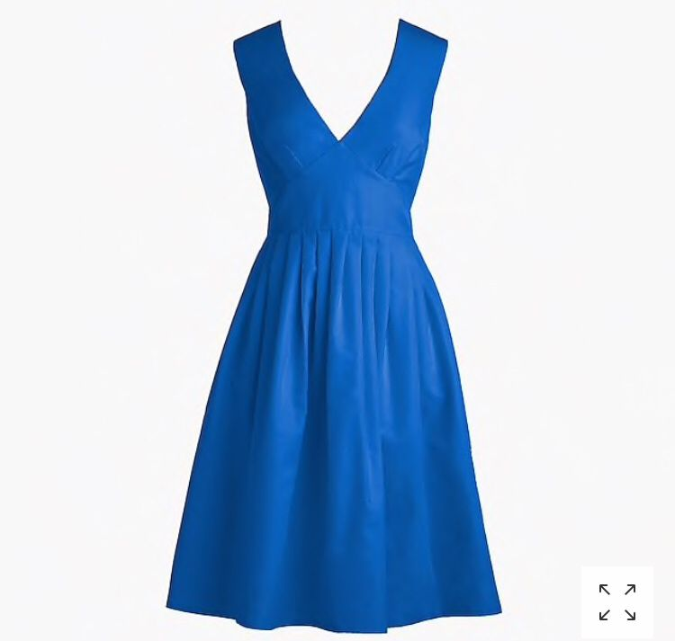 J Crew purple v neck dress size 4