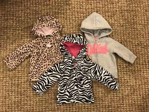 9 mo Girl's Jackets/Hoodies for Sale in Clarksburg, MD