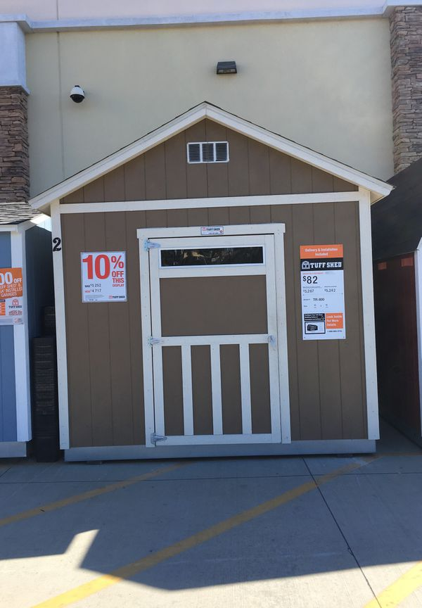 """Tuff Shed Sundance TR-800 10'x12'x11'2"""" Display for Sale in La Puente, CA -  OfferUp"""