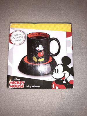Mug Warmer Mickey Mouse Coffee Disney Desk Warmer Black/red w/ 10oz Ceramic Mug for Sale in Las Vegas, NV