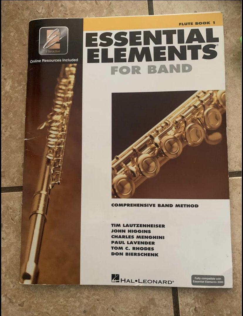 Selmer Flute And Beginner Elements Book