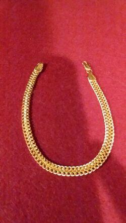 9 IN. GOLD FILLED BRACELET Thumbnail