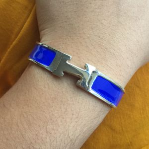 Hermès h click clac Bracelet royal blue for Sale in Silver Spring, MD