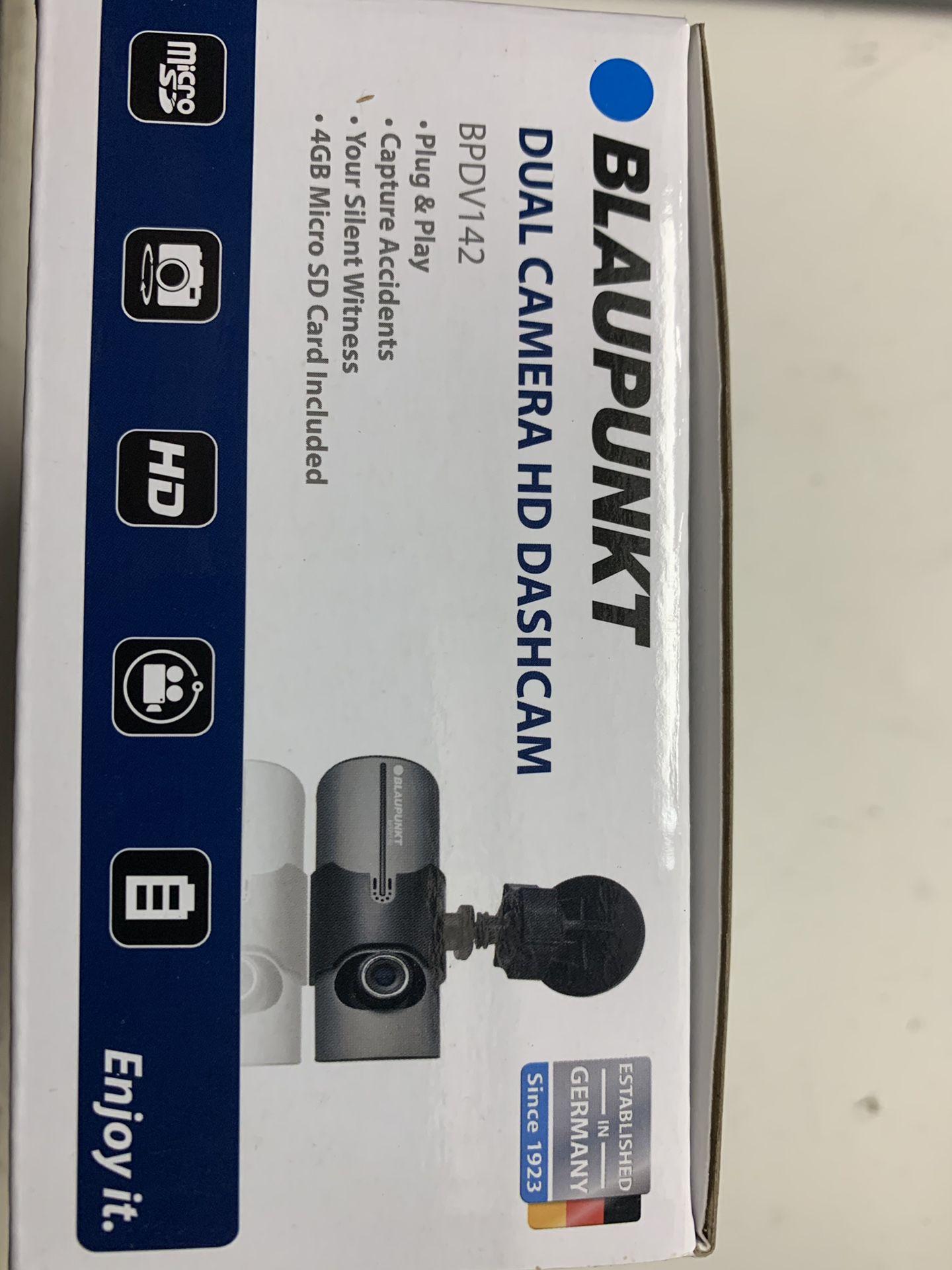 Blaunkpunkt dual dash cameras