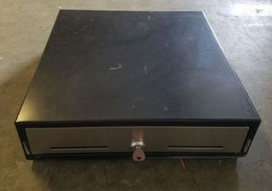 Locking Metal Cash Drawer With Key for Sale in Graham, NC