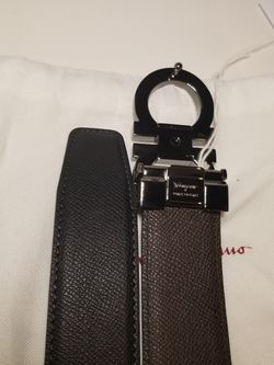 Salvatore Ferragamo Black Belt Authentic  Thumbnail