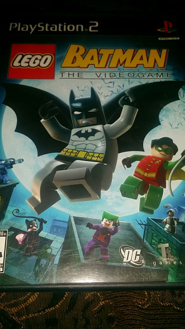 Lego Batman Ps2 Game For Sale In El Cajon Ca Offerup