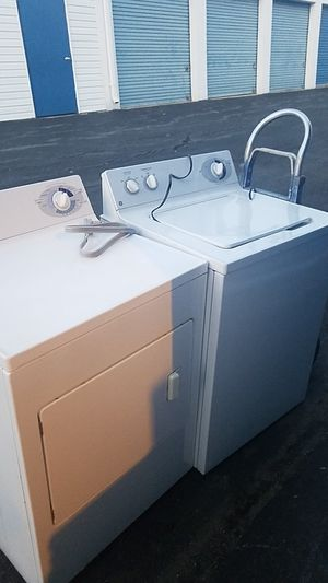 Washer and electric dryer ge for Sale in Oxon Hill, MD