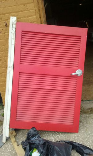Louvered door for Sale in Cleveland, OH