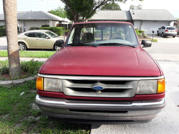 1996 Ford Ranger Pick Up Truck For Sale In Orlando  Fl