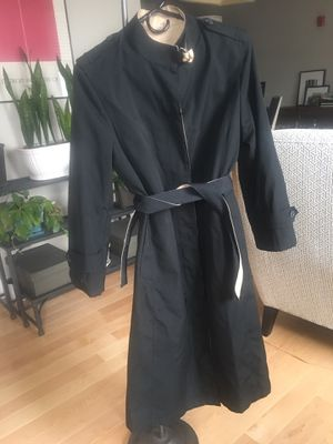Vintage Black Trench Coat for Sale in Boston, MA
