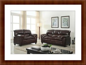 Burgundy sofa and love seat free delivery for Sale in McLean, VA