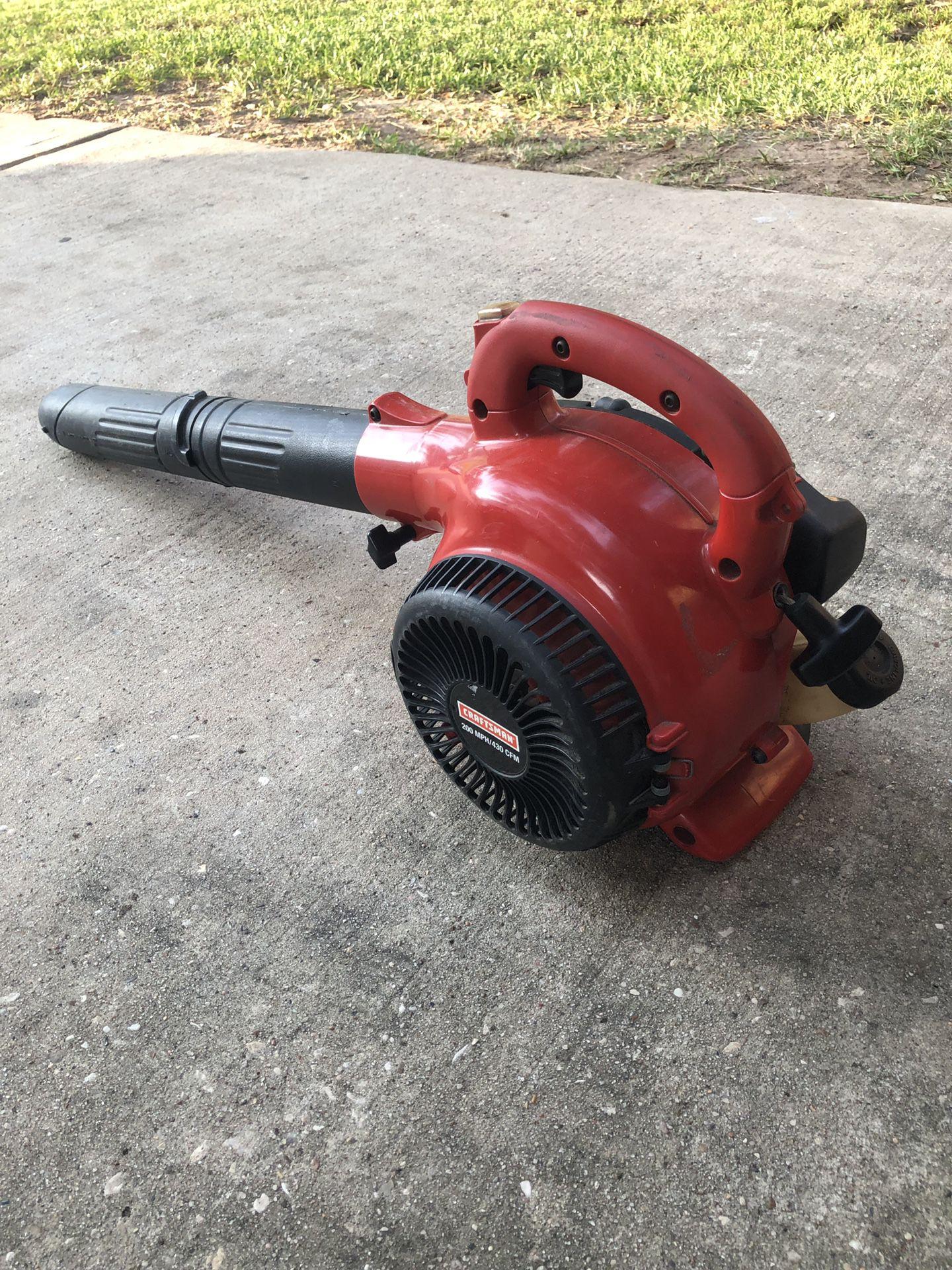 CRAFTSMAN 200MPH 25CC GAS BLOWER