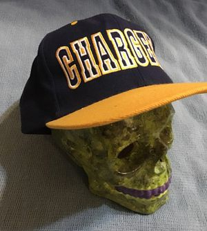 VINTAGE OFFICIAL NFL SAN DIEGO CHARGERS SNAPBACK HAT 1990s Pro Player Logo for Sale in North Potomac, MD