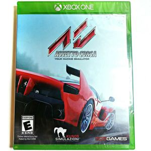 🆕 Assetto Corsa Racing Simulator Xbox One for Sale in San Diego, CA