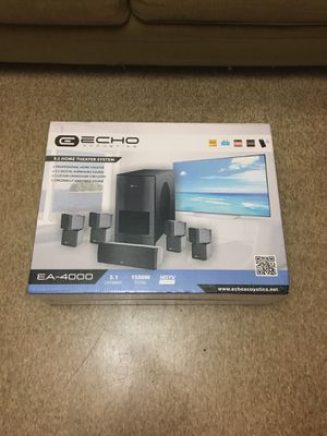 Echo Acoustics surround system for Sale in Hialeah, FL