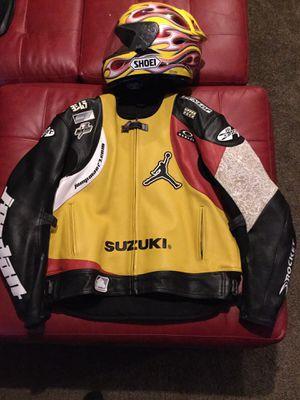 best authentic e2efb e5f64 Joe Rocket Suzuki Jordan motorcycle jacket Sz 52 or XXL for Sale in Pelham,  NH