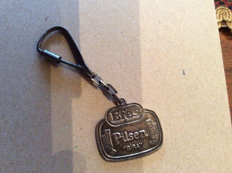Efes Pilsen keychain silver 925