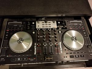 Numark ns6 serato controller with case for Sale in Laurel, MD