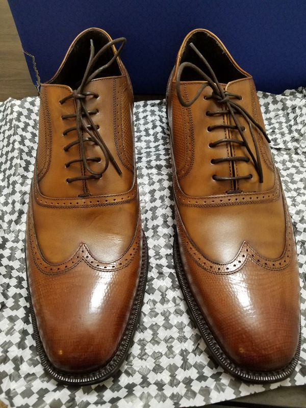 8b0d5eea95 Dralelian by Mr. B's Cognac Size 11 All Leather made in Spain for ...