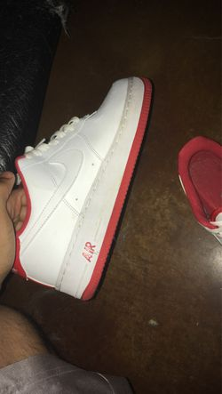 Red Bottom Air Force ones Thumbnail