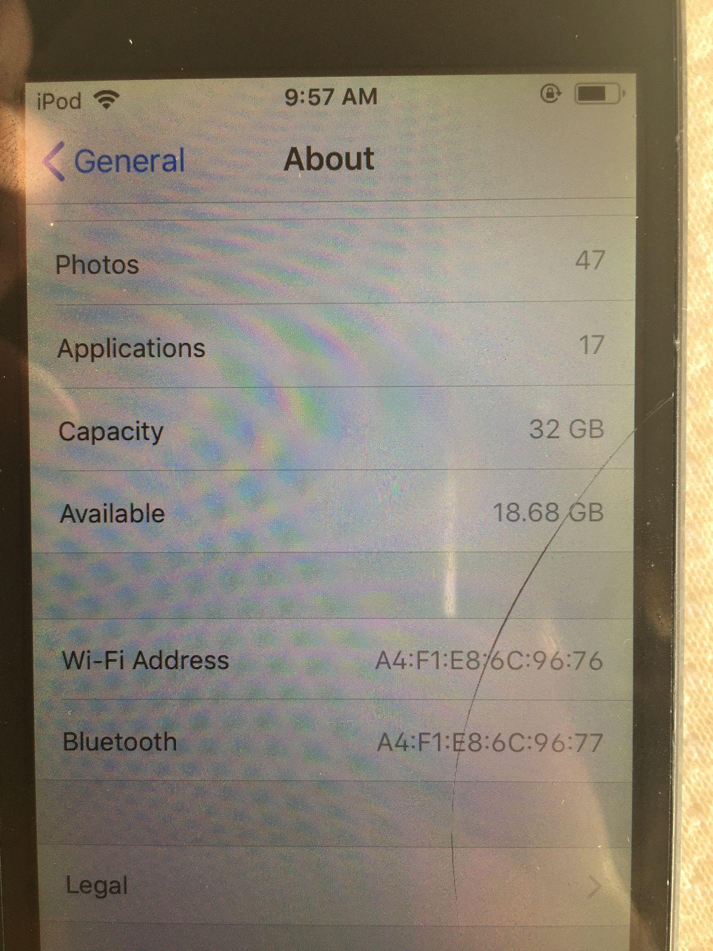 iPod Touch 6 Gen