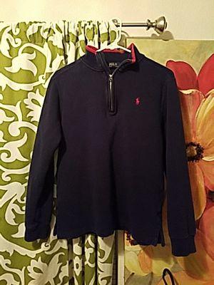 Polo zip up sweatshirt (Ralph Lauren) for Sale in Manassas, VA