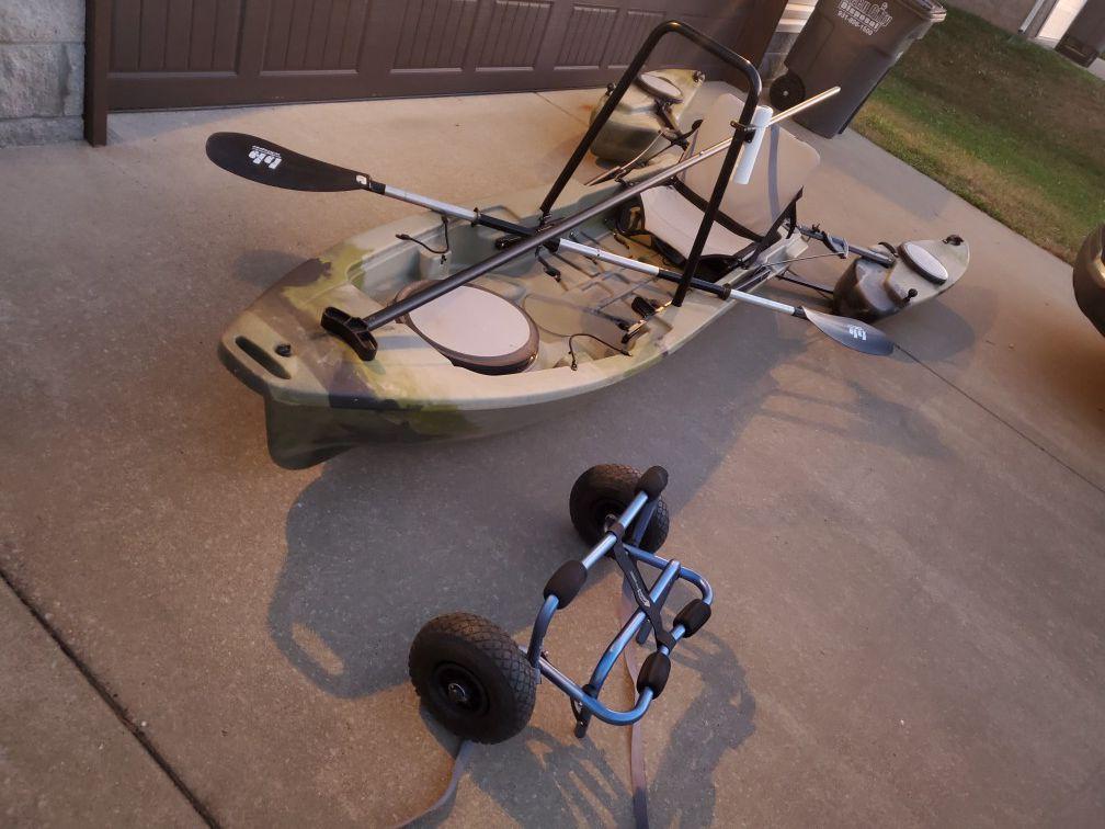 Photo Freedom Hawk Fishing Kayak
