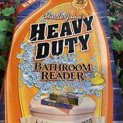 Heavy Duty Bathroom Reader~Paperback Book Thumbnail