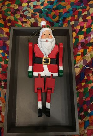 Wooden Santa ornaments for Sale in Gaithersburg, MD