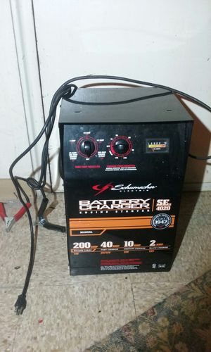 Large battery charger 200 amps for Sale in Washington, DC