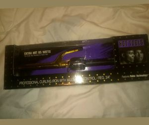 Photo Hot Tools Professional Regular 3/4 Curling Iron with Multi Heat Control 1101