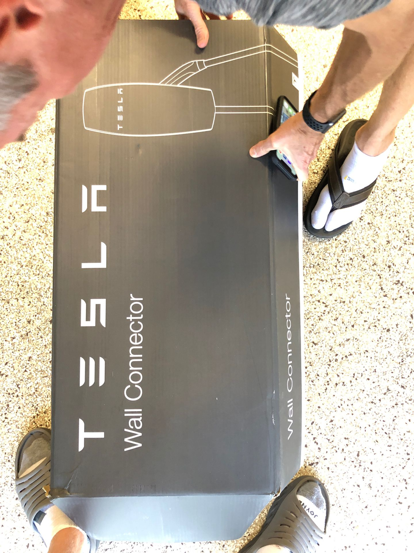Tesla wall connector charger