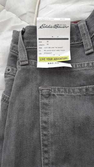 Eddie Bauer relaxed fit jeans for Sale in Chapel Hill, NC