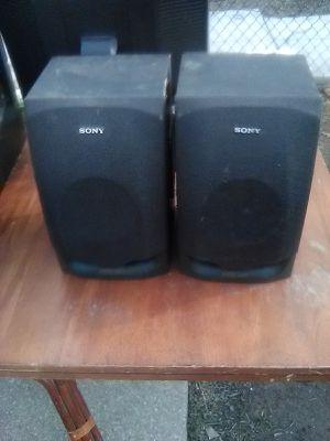 120 Watts Sony Megabass Bookshelf Speakers for Sale in Washington, DC