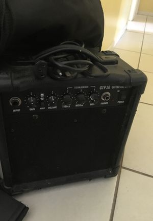 Ibanez guitar with amp for Sale in Longwood, FL
